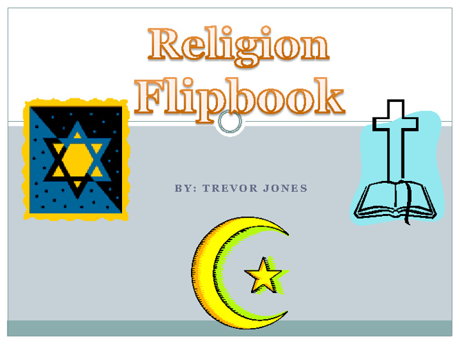 Middle East Religions-Trevor Jones 2ndp
