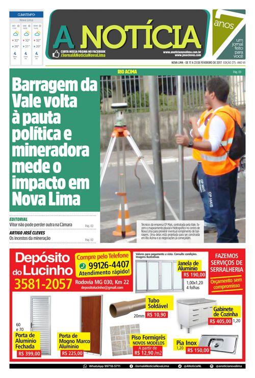 Jornal A Notícia - Edição 275