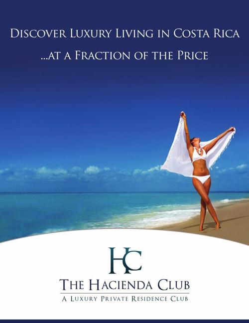 Hacienda Club - Hacienda Pinilla's Private Residence Club (Engli