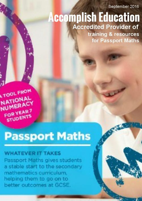 Passport Maths from Accomplish Education