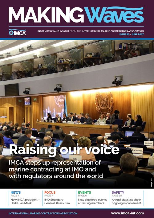 IMCA Making Waves Issue 83 - June 2017
