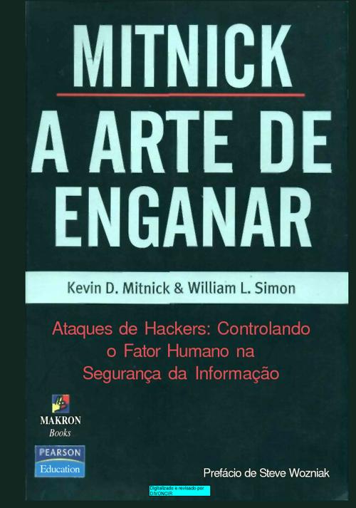 Livro | A Arte de Enganar - Kevin Metnick#