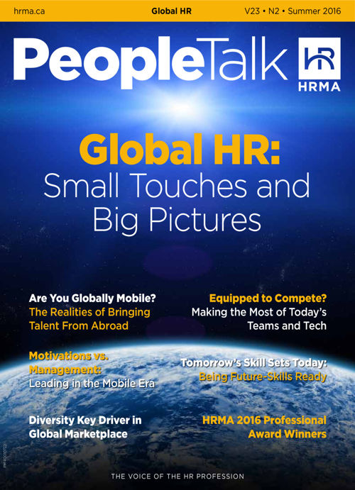 PeopleTalk (Summer 2016) Global HR