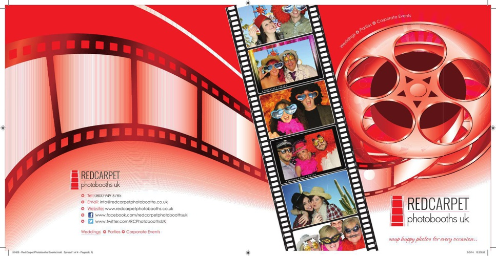 Red Carpet Photo Booths Brochure