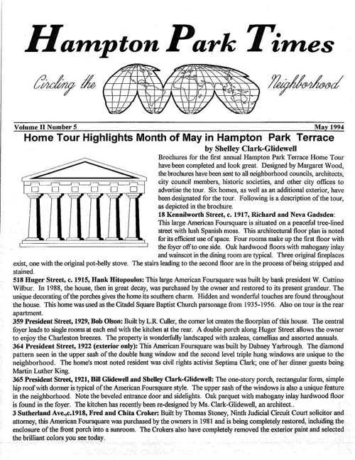 HPT Newsletter May 1994