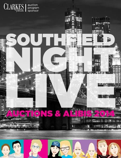 SNL Auctions & Alibis 2014 Book