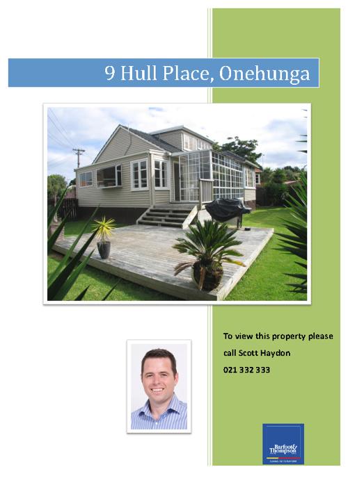 9 Hull Place, Onehunga