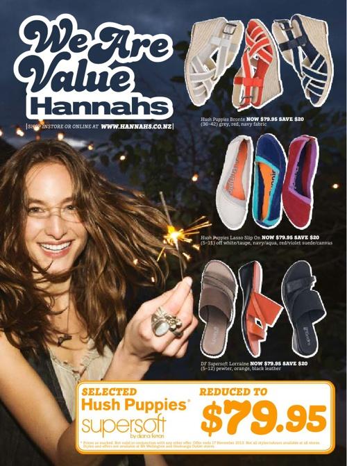 Hannahs November Mailer 2013