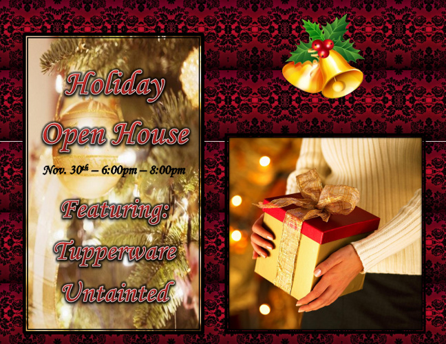 Holiday Open House - November 30th