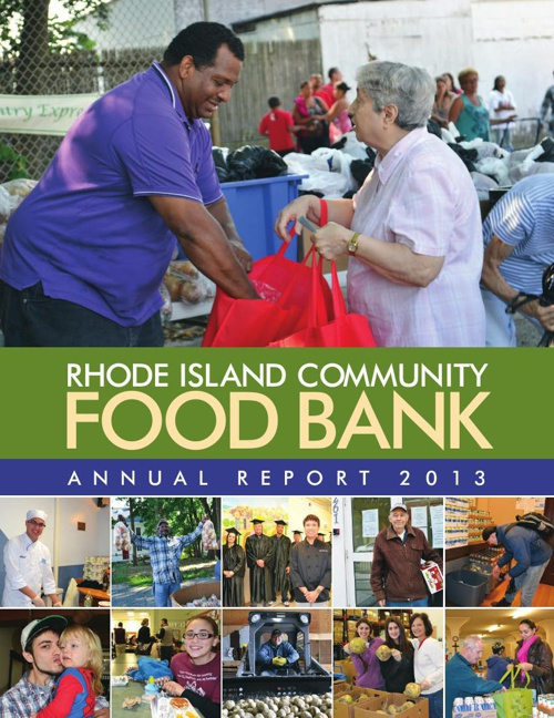 RI Food Bank 2013 Annual Report
