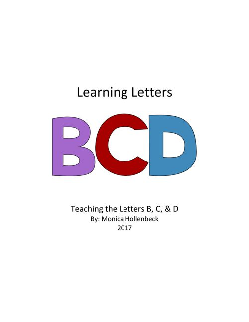 Learning Letters!