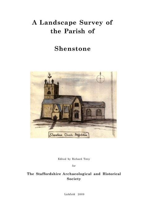 A Landscape Survey of the Parish of Shenstone