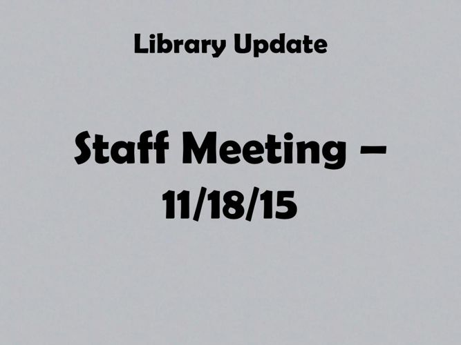Library update2
