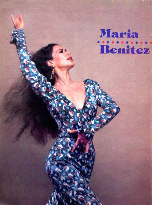Dance Magazine Nov 1984: Maria Benitez Estampa Flamenca
