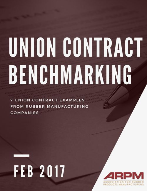 2017 ARPM Union Contracts Benchmarking