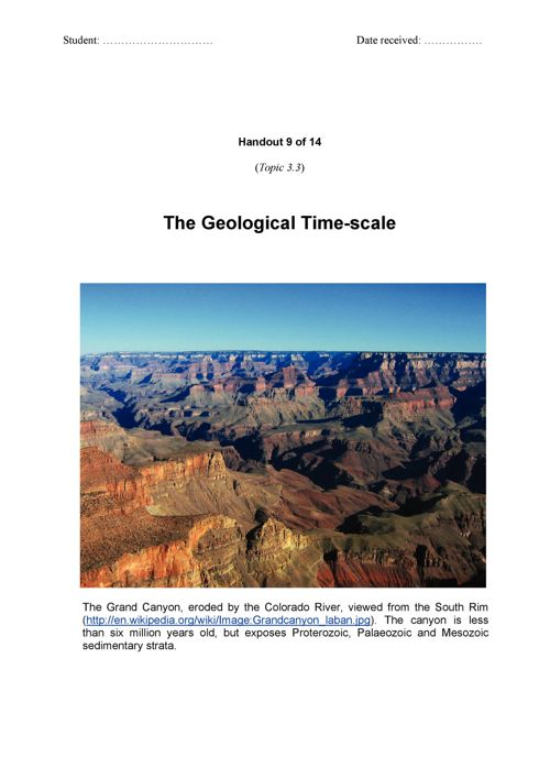 GeologicTime