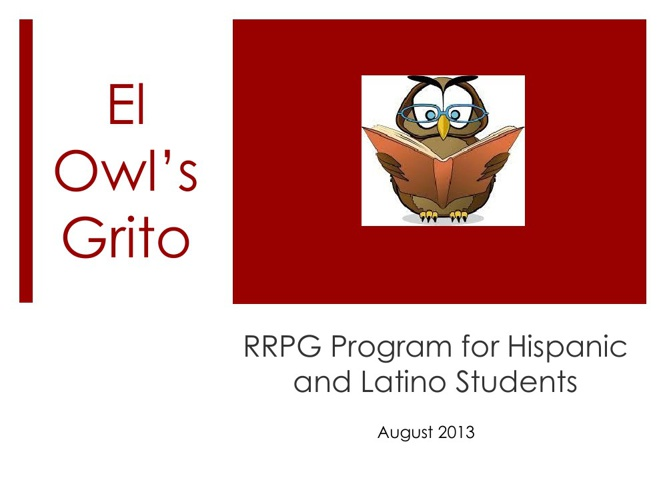RRPG The Owl's Grito August Newsletter