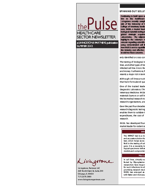 The Pulse - Summer 2012