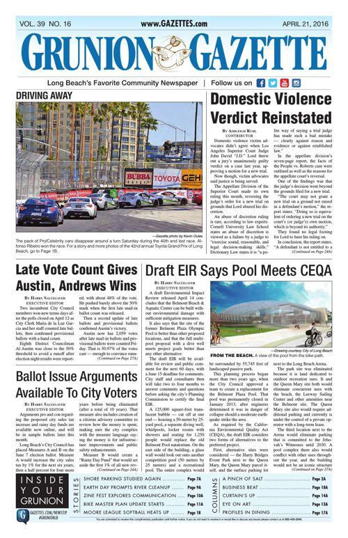 Grunion Gazette   April 21, 2016