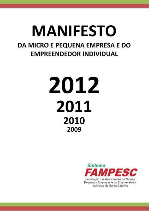 Manifesto Fampesc 6ªed