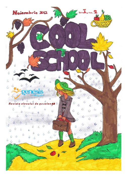 Cool School 2, Revista Scolii Genesis Collegiate nr. 2