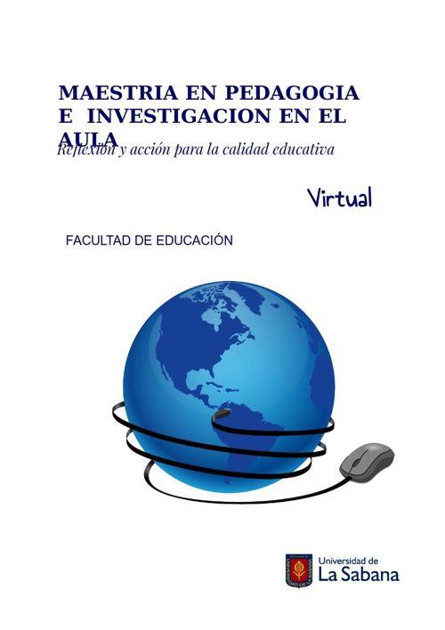 Maestría en Pedagogía e investigación en el aula