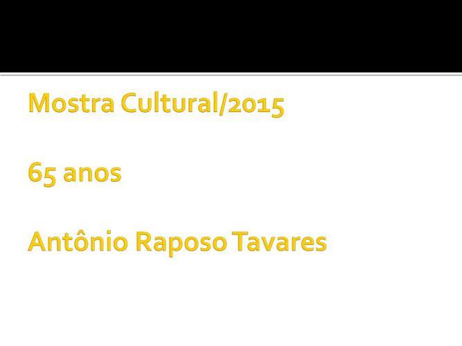 Mostra Cultural CENEART B