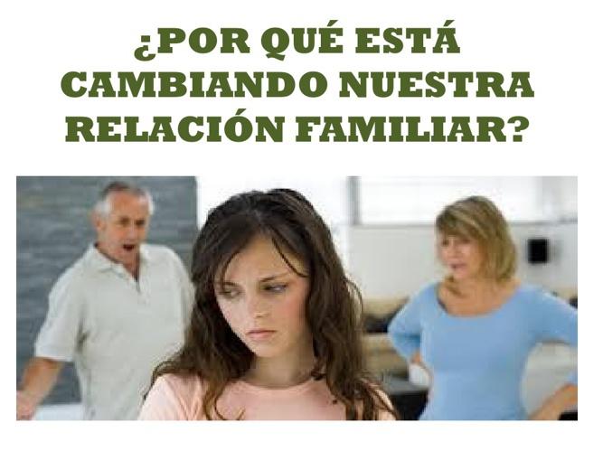 RELACION FAMILIAR