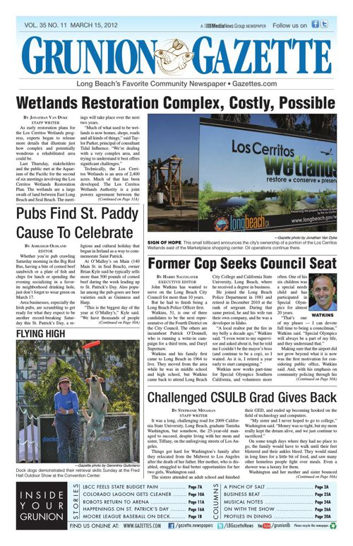 Grunion Gazette | March 15, 2012