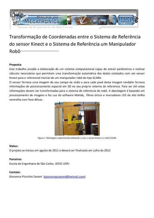 Encarte Laboratório de Reabilitação-Grupo Mecatrônica-EESC-USP