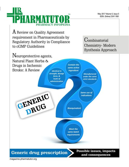 PharmaTutor Magazine - Vol 5 - Issue 5 - May 2017