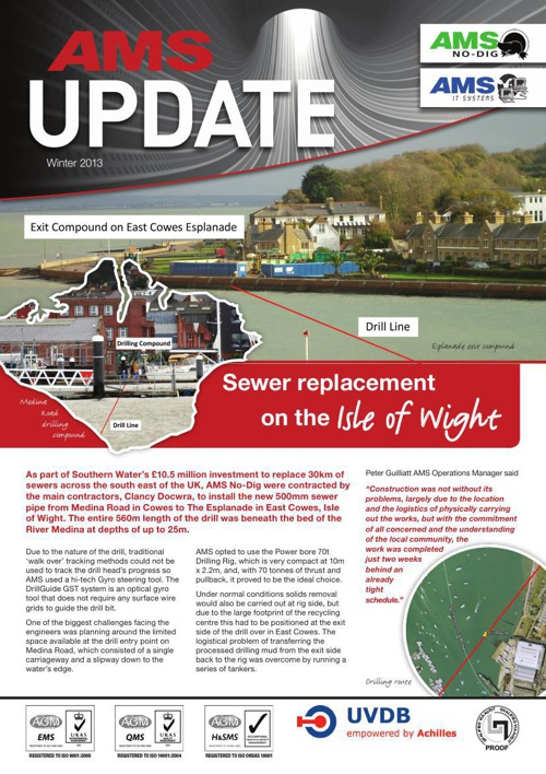 AMS Project Update Newsletter 2013 / 2014