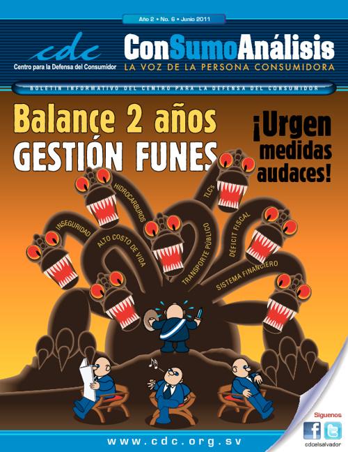 Boletín ConSumo Análisis 6 Balance 2do Año Mauricio Funes
