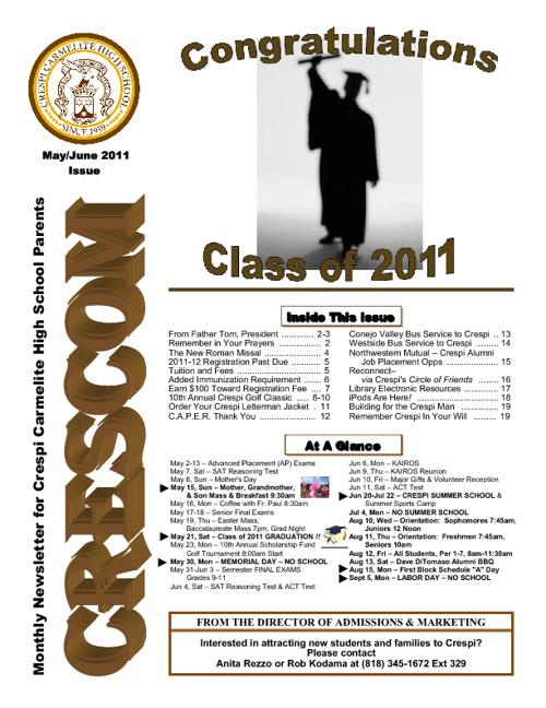 CresCom: Parent Newsmagazine
