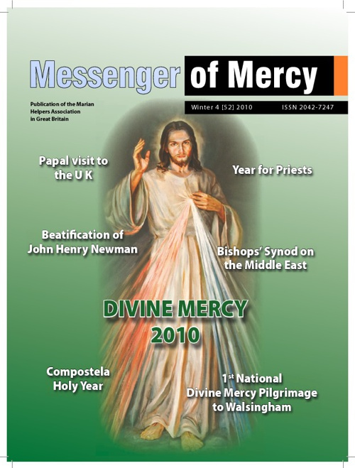 Messenger of Mercy issue 52 - Winter 2010