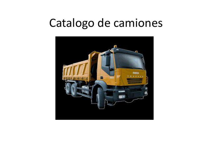 Catalogo de camiones
