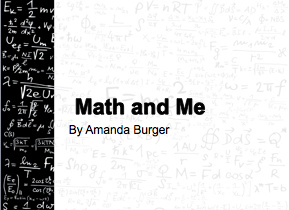 Math And Me