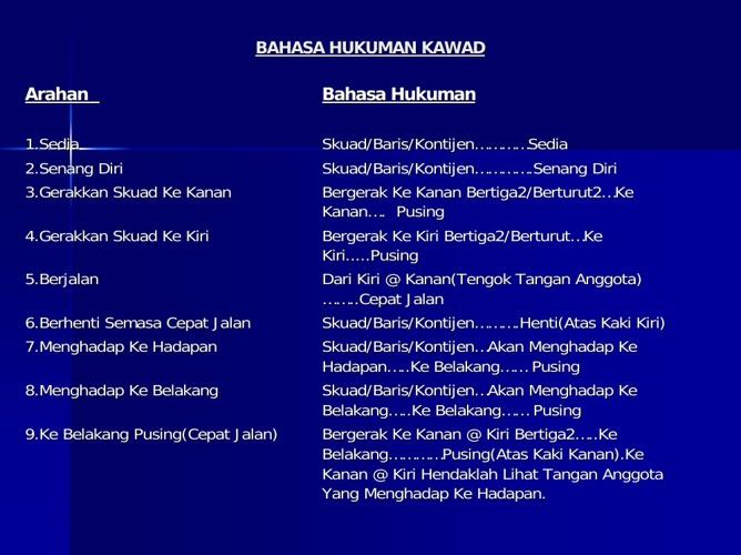 Bahasa Kawad