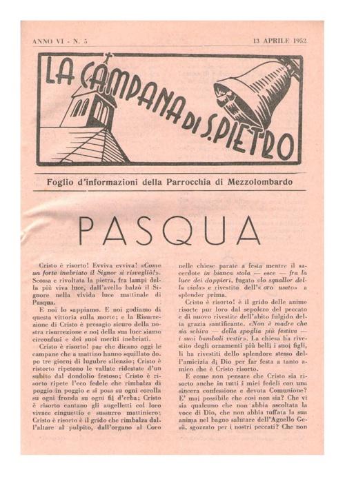 1952 - aprile