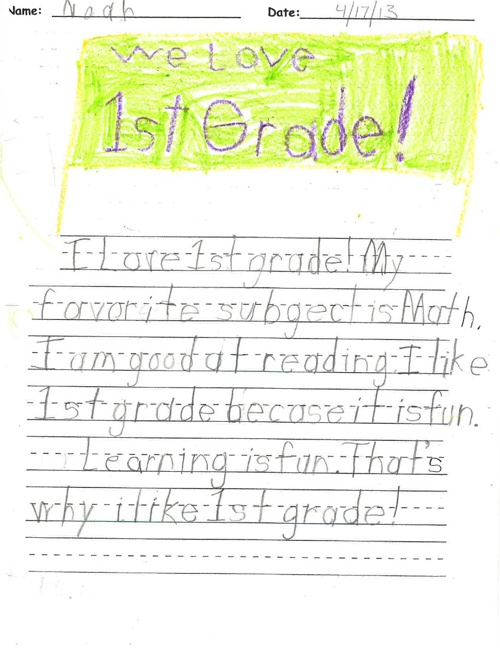 All About First Grade