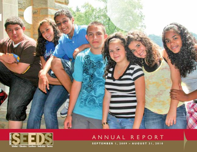New Jersey SEEDS' 2010 Annual Report