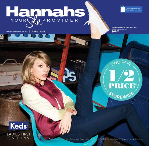 Hannahs April Mailer