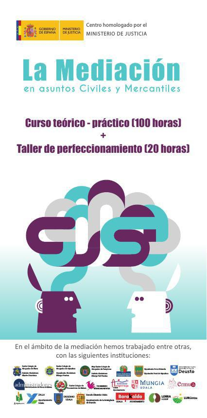 Mediación Civil y Mercantil (curso de 100 horas teórico -práctic