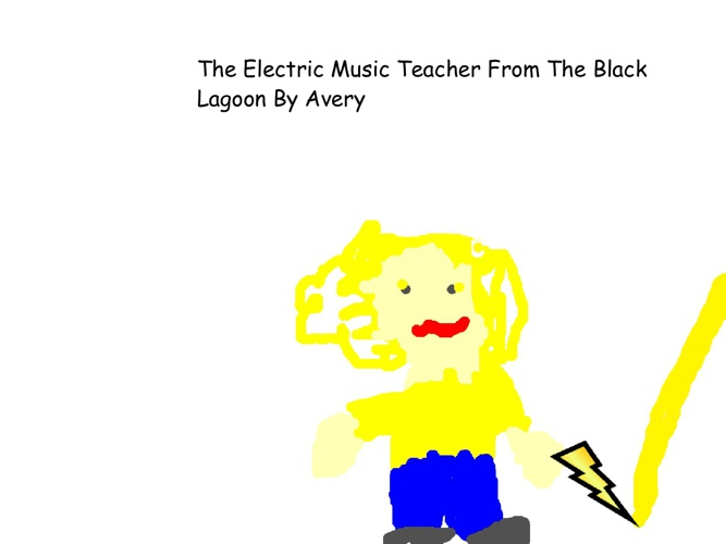 The Electric Music Teacher From The Black Lagoon