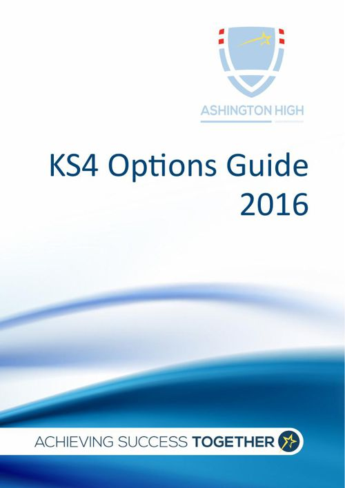 Options Pathways 1 & 2 2016 - Final