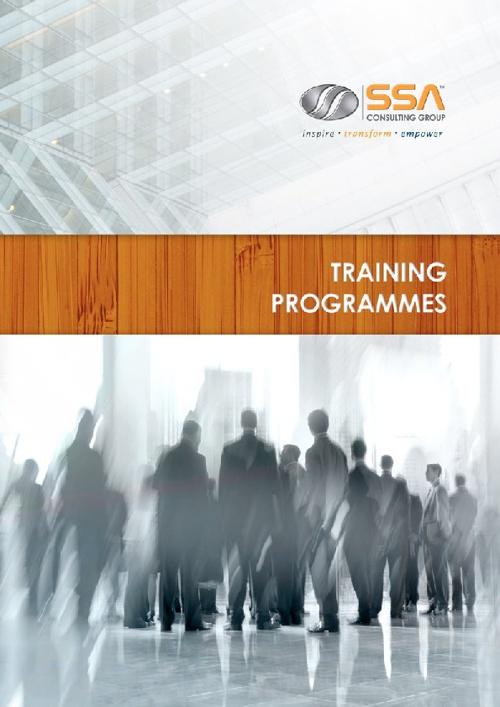 Corporate Training Brochure