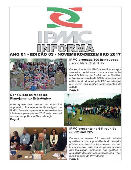 Informativo IPMC 3° Edição