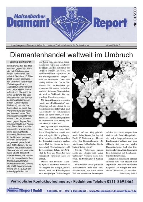 diamantreport