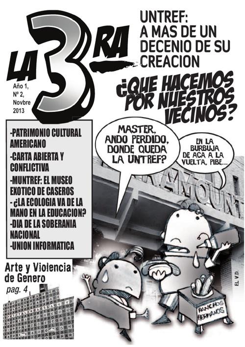 "Revista ""La 3ra"" Nro. 2, noviembre 2013"