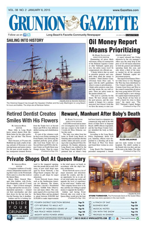 Grunion Gazette | January 8, 2015